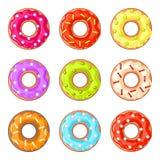 Donuts с брызгают Стоковое Изображение RF