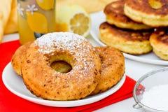 Donuts с лимоном Стоковая Фотография RF