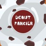 Donuts с поливой иллюстрация вектора