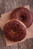 Donuts с шоколадом Стоковое Изображение RF
