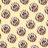 Donuts шоколада стоковое фото rf