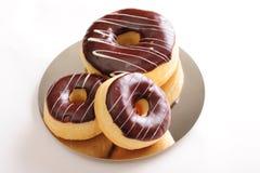 donuts шоколада свежие Стоковая Фотография RF