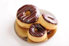 donuts шоколада свежие Стоковые Фото