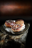 Donuts шоколада II Стоковое фото RF
