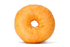 Donuts. A delicious donuts isolated on a white background Stock Photos