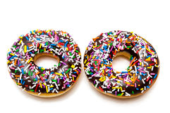 donuts 2 шоколада Стоковая Фотография RF