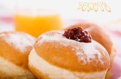 Donuts 2. Tasty Donut on white background Stock Image