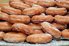 Donuts 2. Close up from many fresh donuts Stock Image