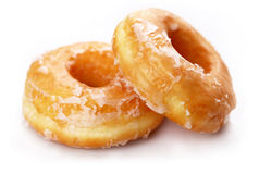 Donuts. On white background Stock Image