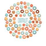 Donuts Arkivfoton