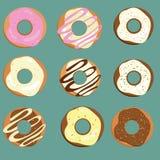 Donuts royalty-vrije illustratie