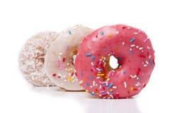 donuts τρία Στοκ Εικόνες