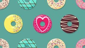 donuts απεικόνιση αποθεμάτων