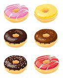Donuts royalty free illustration