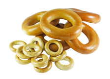 Donuts and bagels Stock Photography