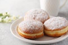 Donuts berlinera. Close-up Royalty Free Stock Photo