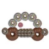 Donuts car Royalty Free Stock Photos