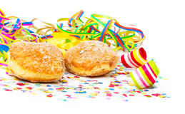 Donuts, carnival decoration Stock Images
