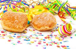 Donuts, carnival decoration Royalty Free Stock Image
