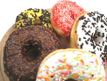 Donuts close-up Royalty Free Stock Image