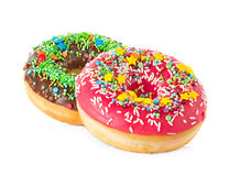 Donuts close-up Royalty Free Stock Photo