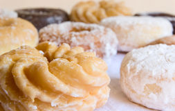 Donuts - close-up & shallow DOF Royalty Free Stock Photo