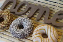 Donuts, coffee time, coffee break, sweet break, Royalty Free Stock Images