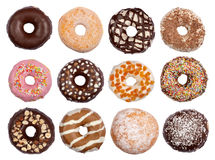 Donuts collection Royalty Free Stock Photography