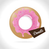Donuts design Stock Photos