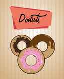 Donuts design Royalty Free Stock Image