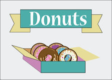 Donuts design Royalty Free Stock Photo