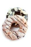 Geïsoleerde Donuts Stock Foto