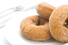 Donuts in a dish Royalty Free Stock Photo