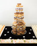 Donuts display stand Stock Photography