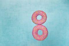 Donuts för åtta marsch Arkivbild