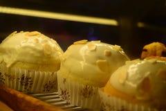 Donuts för din bageriaffär Fotografering för Bildbyråer