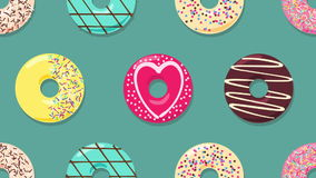 Donuts. stock illustration