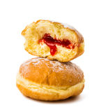 Donuts with filling Royalty Free Stock Photography