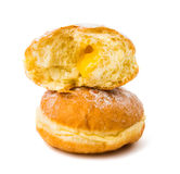 Donuts with filling Stock Images