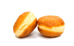 Donuts with a filling Stock Photography