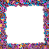 Donuts Frame Stock Photography