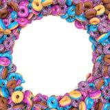 Donuts Frame Stock Image