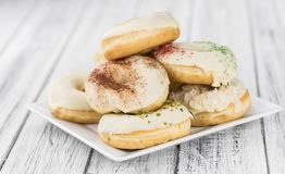 Donuts fresh made; selective focus Stock Images