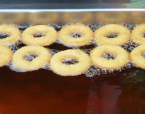 Donuts fried Stock Images