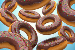 The donuts Stock Photography