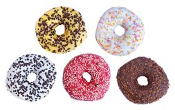 Donuts isolated Stock Photo