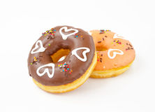 Donuts isolated Royalty Free Stock Image