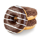 Donuts isolated close-up Royalty Free Stock Photo