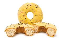 Donuts isolated Royalty Free Stock Photos