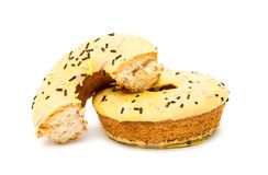 Donuts isolated Royalty Free Stock Images